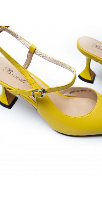 Босоножки Brocoli 00707 Желтые